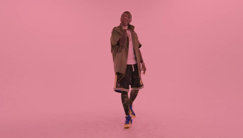 Nike Sneakers And Air Jordan Shorts in Flipmode by Fabolous, Velous, Chris Brown (2017) - Official Music Video Product Placement