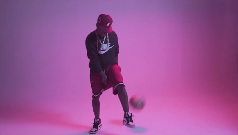Nike Sweatshirt and Sneakers in Flipmode by Fabolous, Velous, Chris Brown (2017) Official Music Video Product Placement