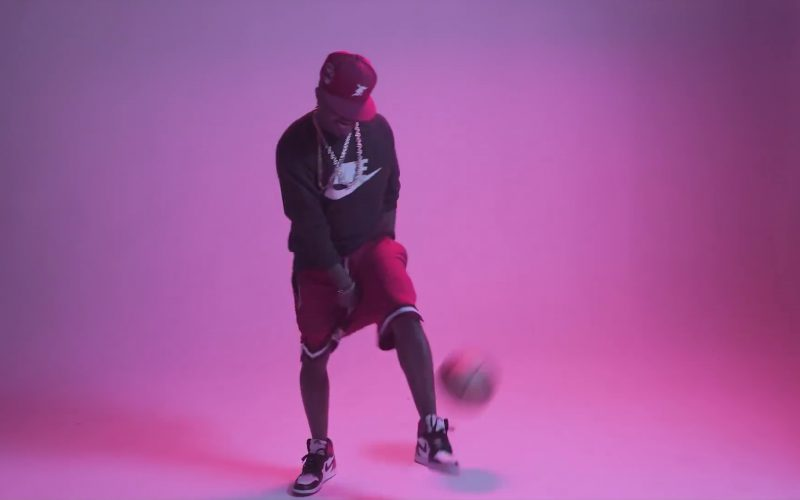 Nike Sweatshirt and Sneakers in Flipmode by Fabolous, Velous, Chris Brown
