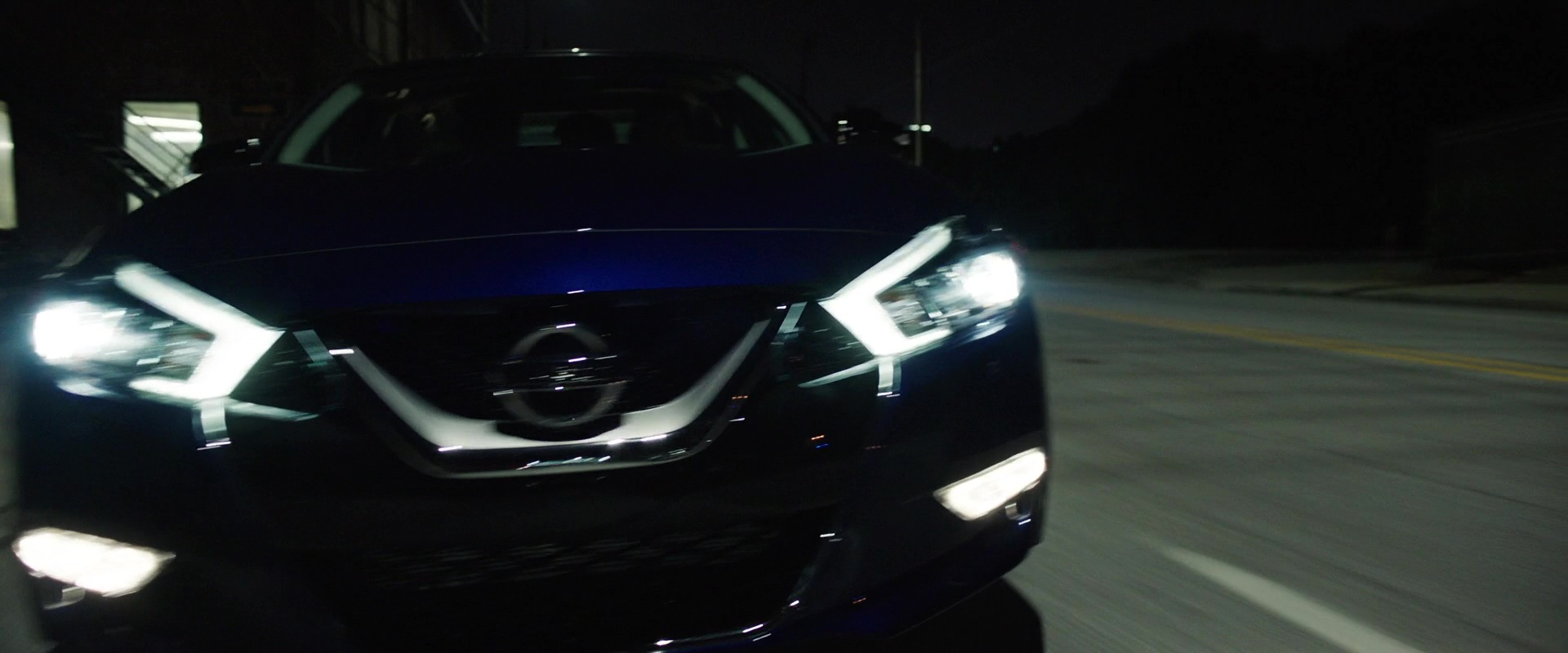 Nissan Maxima Blue Car In Game Night 2018 Movie