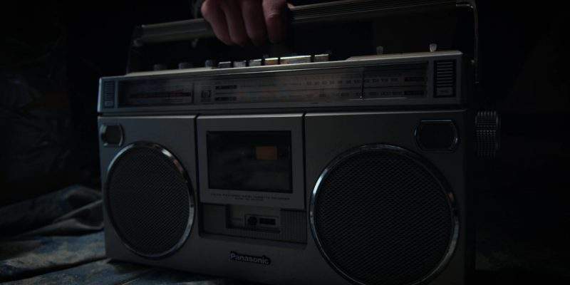 Panasonic Cassette Player in Stranger Things: The Mind Flayer (2017) TV Show Product Placement