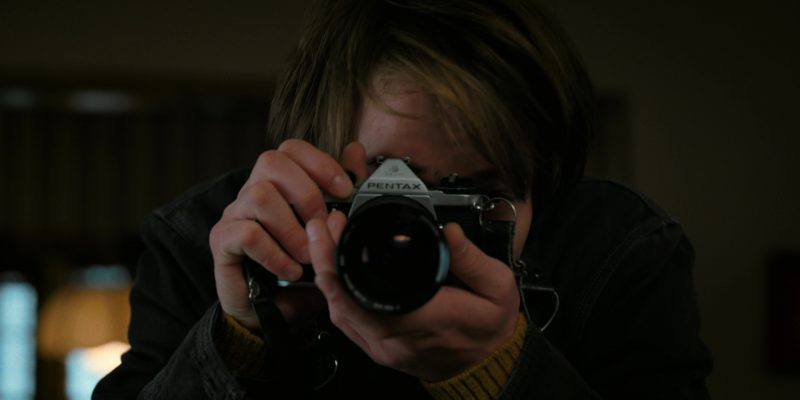Pentax Photo Camera Used by Charlie Heaton in Stranger Things: Trick or Treat, Freak (2017) - TV Show Product Placement