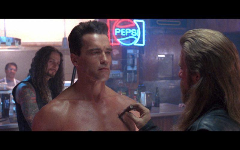 Pepsi Neon Sign in Terminator 2 (4)