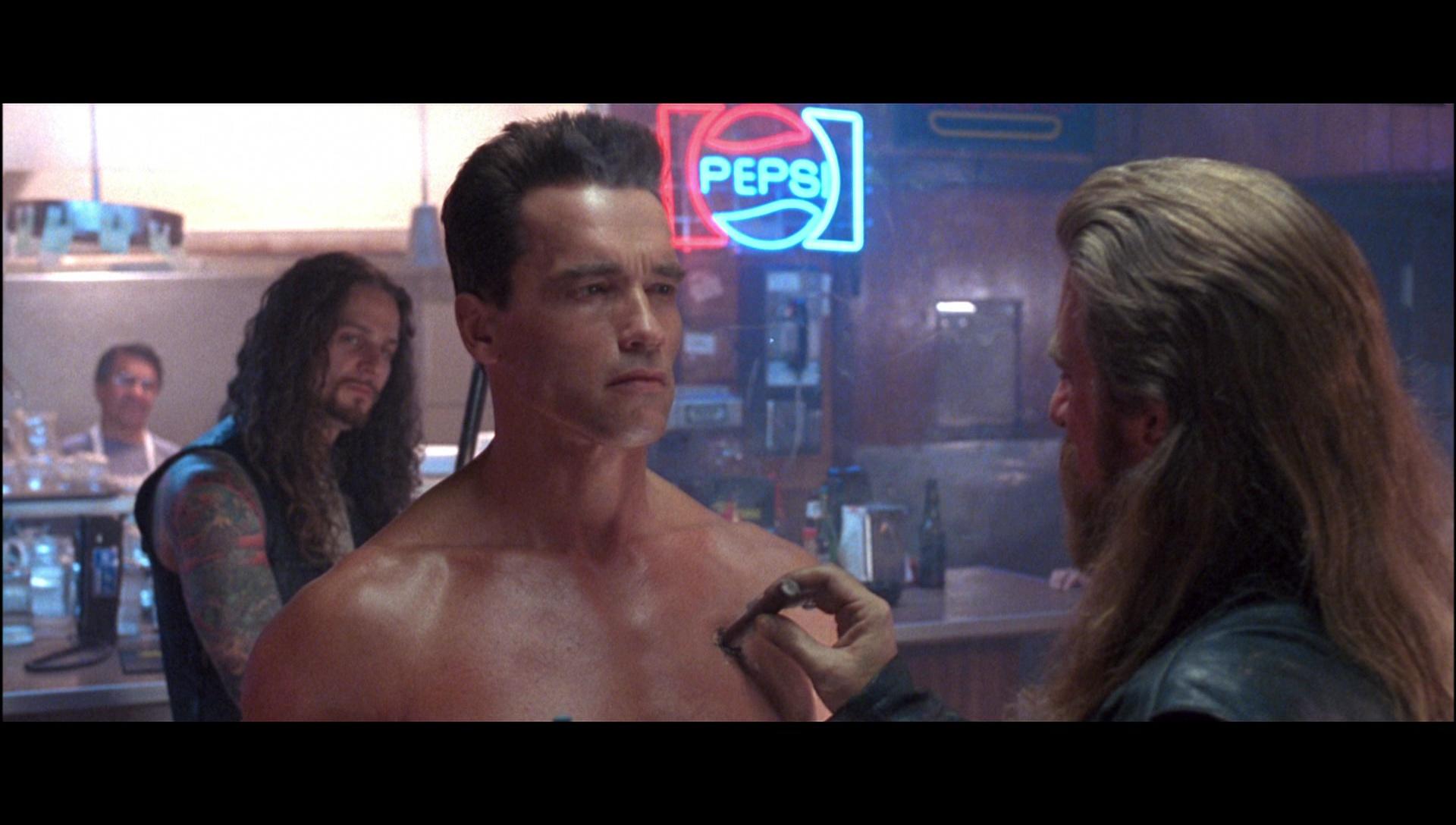 Pepsi Neon Sign In Terminator 2 Judgment Day 1991 Movie