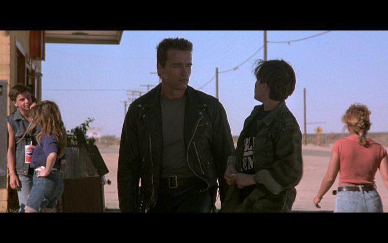 Pepsi Paper Cup in Terminator 2 (1991)