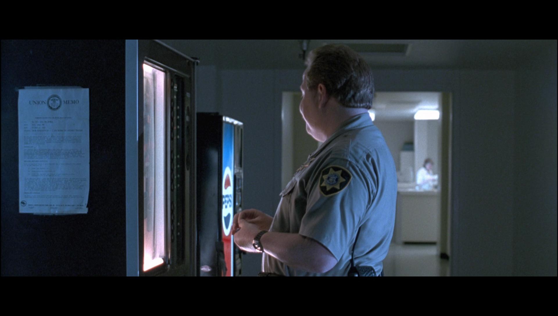 pepsi vending machines in terminator 2 judgment day 1991
