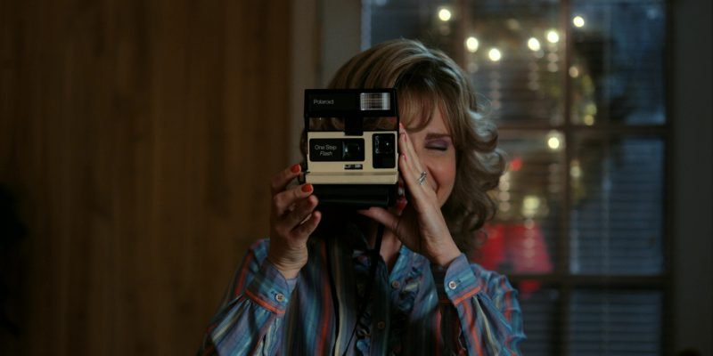 Polaroid Photo Camera Used by Cara Buono (Karen) in Stranger Things: The Gate (2017) - TV Show Product Placement