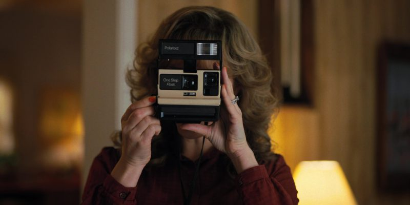 Polaroid Photo Camera Used by Cara Buono (Karen) in Stranger Things: Trick or Treat, Freak (2017) - TV Show Product Placement