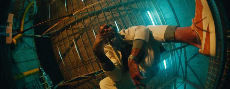 Puma Outfit and Shoes in Phone Jumpin by Dave East ft. Wiz Khalifa (2017) - Official Music Video Product Placement