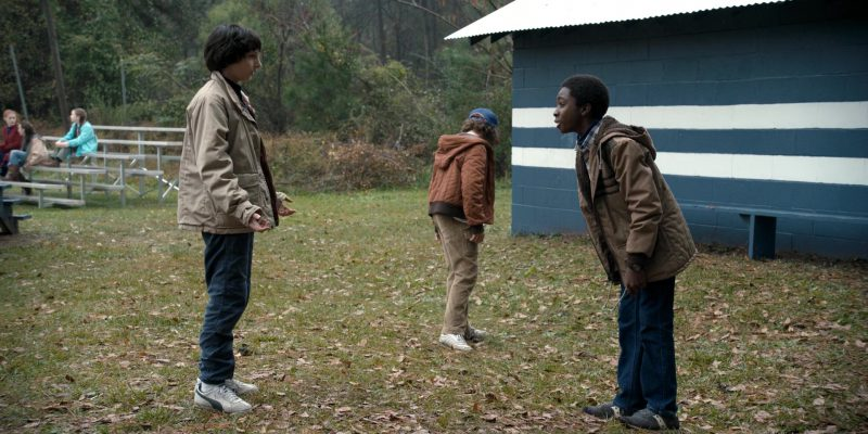 Puma Sneakers Worn by Finn Wolfhard (Mike) in Stranger Things: Holly, Jolly (2016) TV Show Product Placement