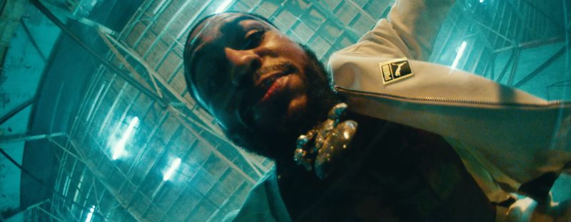 Puma White Tracksuit in Phone Jumpin by Dave East ft. Wiz Khalifa (2017) - Official Music Video Product Placement