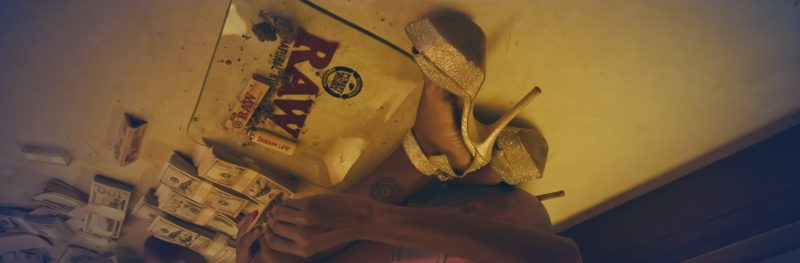 RAW Rolling Paper in Perplexing Pegasus by Rae Sremmurd (2017) Official Music Video Product Placement