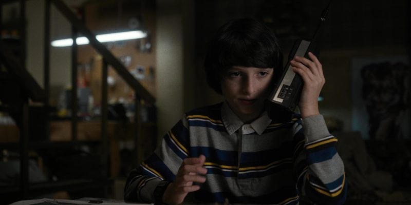 REALISTIC Radio Used by Finn Wolfhard (Mike) in Stranger Things: The Vanishing of Will Byers (2016) - TV Show Product Placement