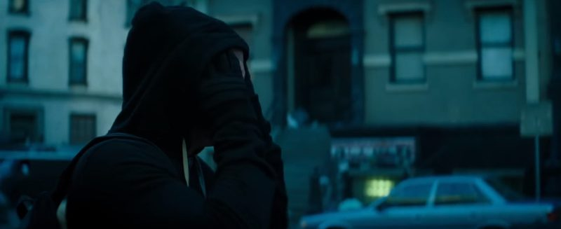 Rick Owens DRK­SHDW Zip-Up Hoodie (Black) Worn by Ryan Reynolds in Deadpool 2 (2018) Movie Product Placement