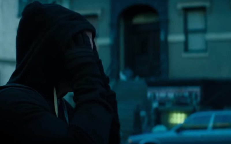 RICK OWENS DRK­SHDW Zip-Up Hoodie (Black) Worn by Ryan Reynolds in Deadpool 2 (1)