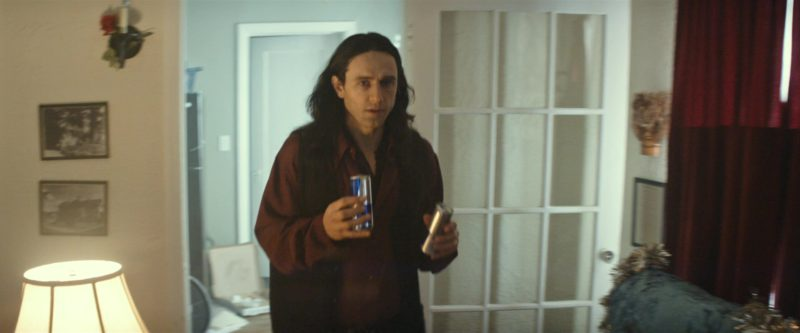 Red Bull Energy Drink in The Disaster Artist (2017) Movie Product Placement