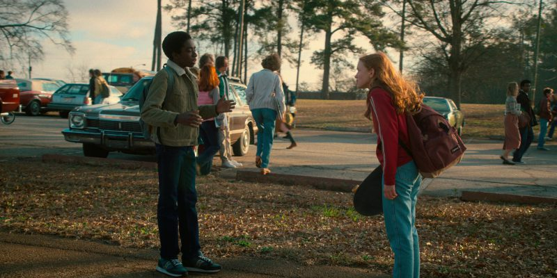 Saucony Sneakers Worn by Caleb McLaughlin (Lucas) in Stranger Things: Will the Wise (2017) - TV Show Product Placement