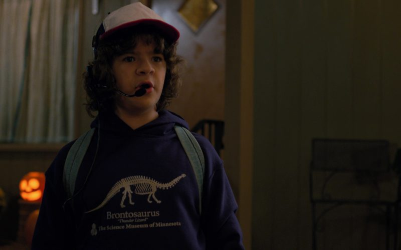 Science Museum of Minnesota Brontosaurus Hoodie Worn by Gaten Matarazzo in Stranger Things (7)