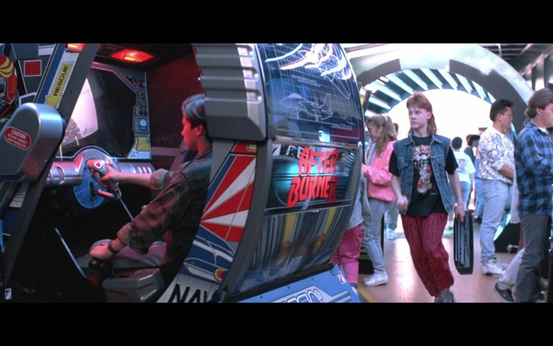 Sega After Burner Arcade Video Game in Terminator 2