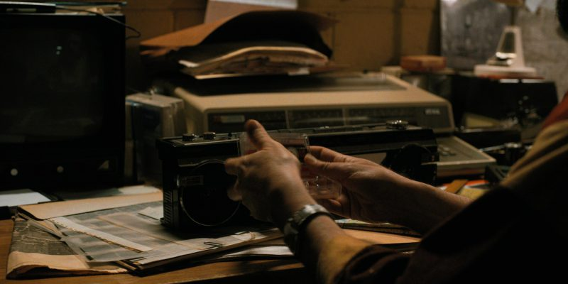 Sharp Cassette Player in Stranger Things: The Spy (2017) - TV Show Product Placement