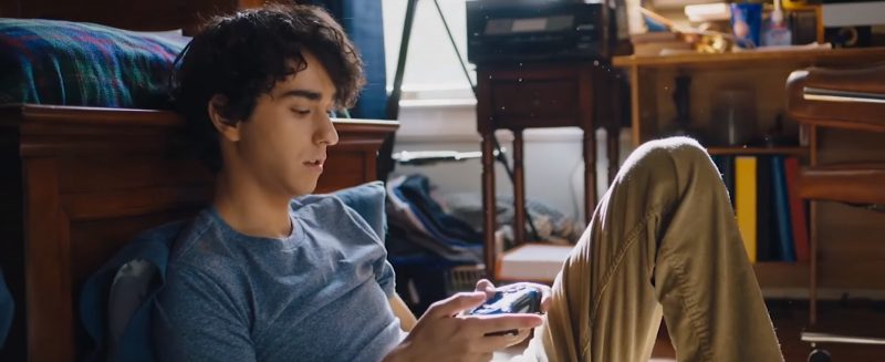 Sony PlayStation Controller Used by Alex Wolff in Jumanji: Welcome to the Jungle (2017) - Movie Product Placement