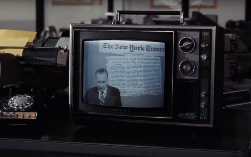 Sony Trinitron TV in The Post (2017)