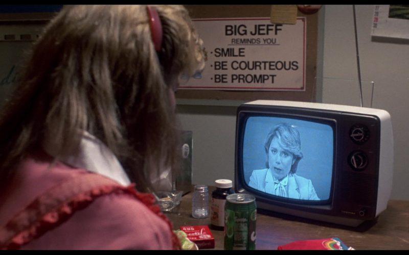 Sprite And Toshiba TV in The Terminator