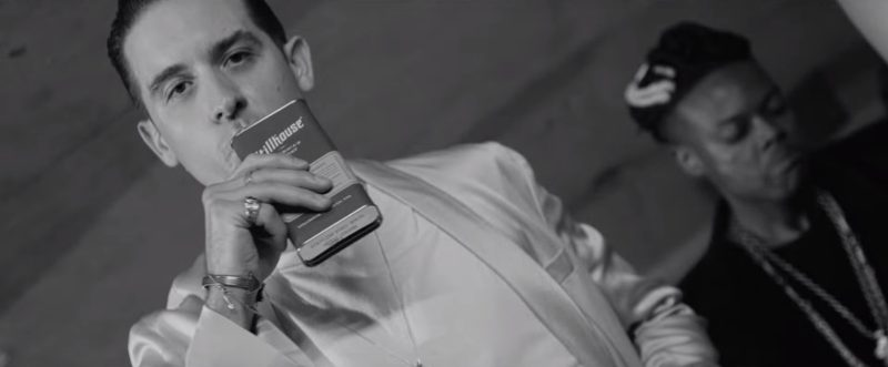 Stillhouse Whiskey in The Plan by G-Eazy (2017) Official Music Video Product Placement
