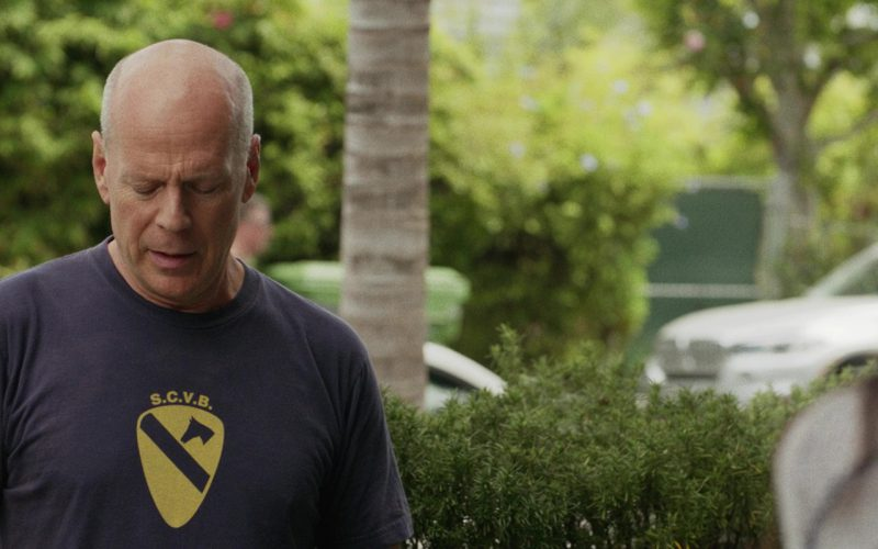 Surfing Cowboys Venice Beach (S.C.V.B.) T-Shirt Worn by Bruce Willis in Once Upon a Time in Venice (1)