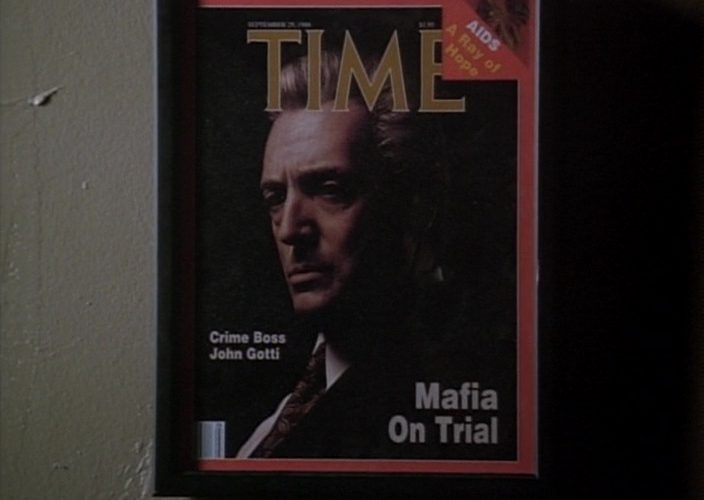TIME Magazine Cover in Gotti (1996)