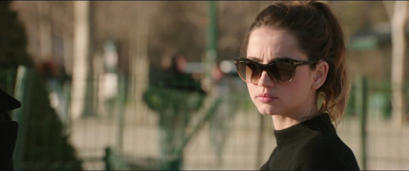 Tom Ford Sunglasses Worn by Ana de Armas in Overdrive (2017) - Movie Product Placement