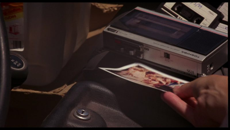 Toshiba Portable Cassette Player and Recorder Used by Linda Hamilton (Sarah Connor) in The Terminator (1984) Movie Product Placement