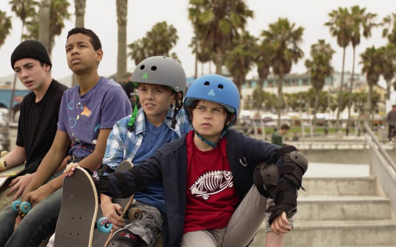 Triple 8 Skateboarding Helmets Worn by Kids in Once Upon a Time in Venice (1)