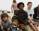 Triple 8 Skateboarding Helmets Worn by Kids in Once Upon a Time in Venice (2)