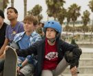 Triple 8 Skateboarding Helmets Worn by Kids in Once Upon a Time in Venice (4)