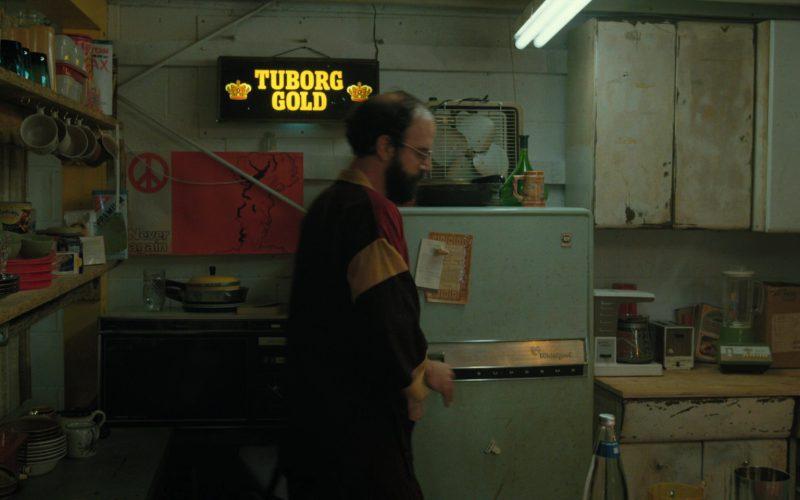 Tuborg Gold Beer Sign in Stranger Things (1)
