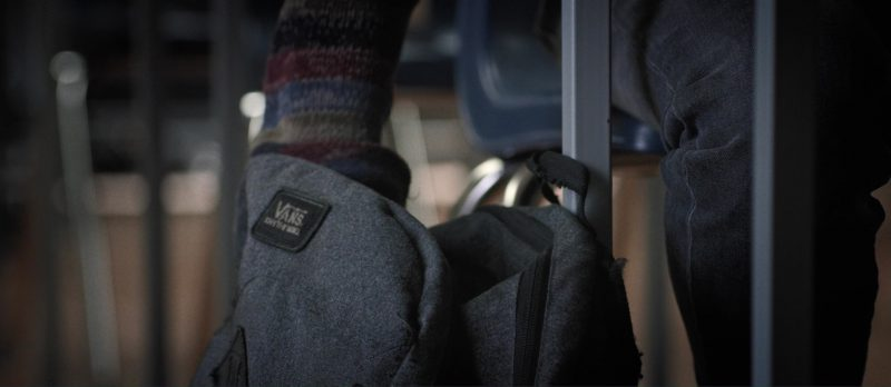 Vans Backpack Used by Artin John in Death Note (2017) - Movie Product Placement