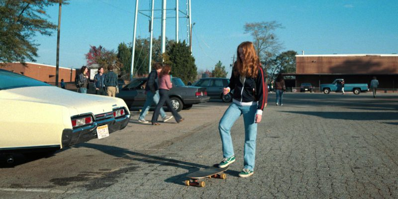 Vans Shoes (Green) Worn by Sadie Sink (Max) in Stranger Things: Trick or Treat, Freak (2017) TV Show Product Placement