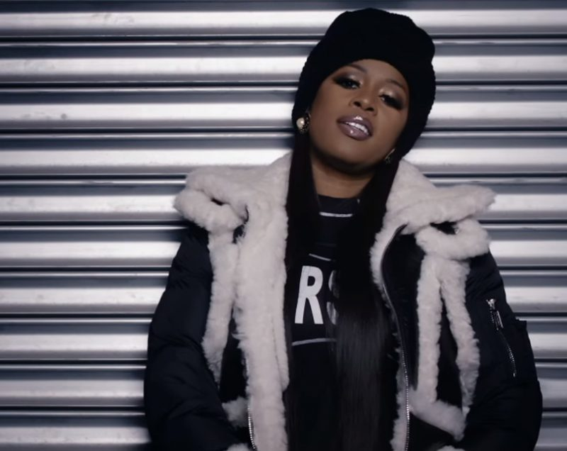 Versace T-Shirt (Black) Worn by Worn by Remy Ma in Wake Me Up (2017) - Official Music Video Product Placement