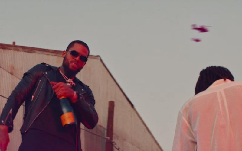 Veuve Clicquot Champagne in Phone Jumpin by Dave East ft. Wiz Khalifa (1)