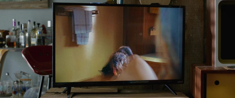 Vizio TV Used by John Goodman in Once Upon a Time in Venice (2017) Movie Product Placement