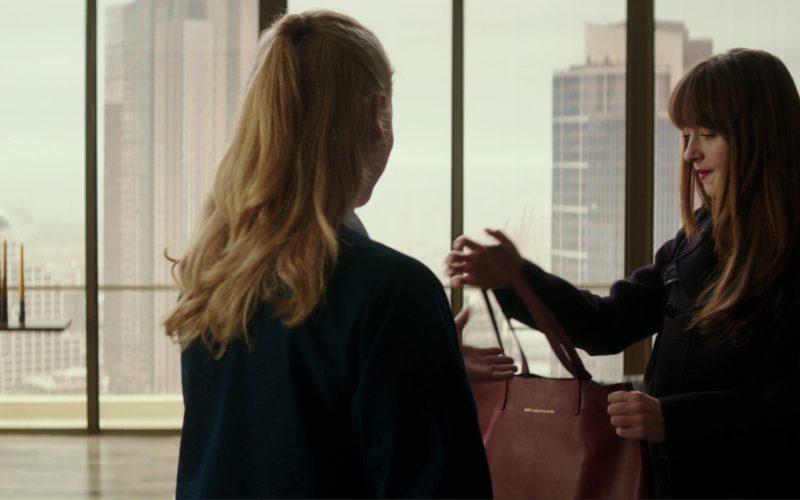 Want Les Essentiels Logan Tote (Handbag) Used by Dakota Johnson (Anastasia Steele) in Fifty Shades Darker (1)