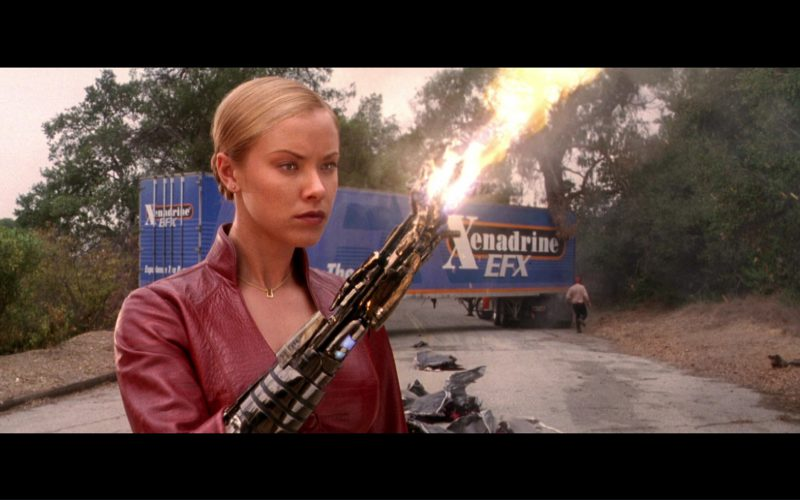 Xenadrine EFX (Weight Loss Supplement) Truck in Terminator 3 Rise of the Machines (6)