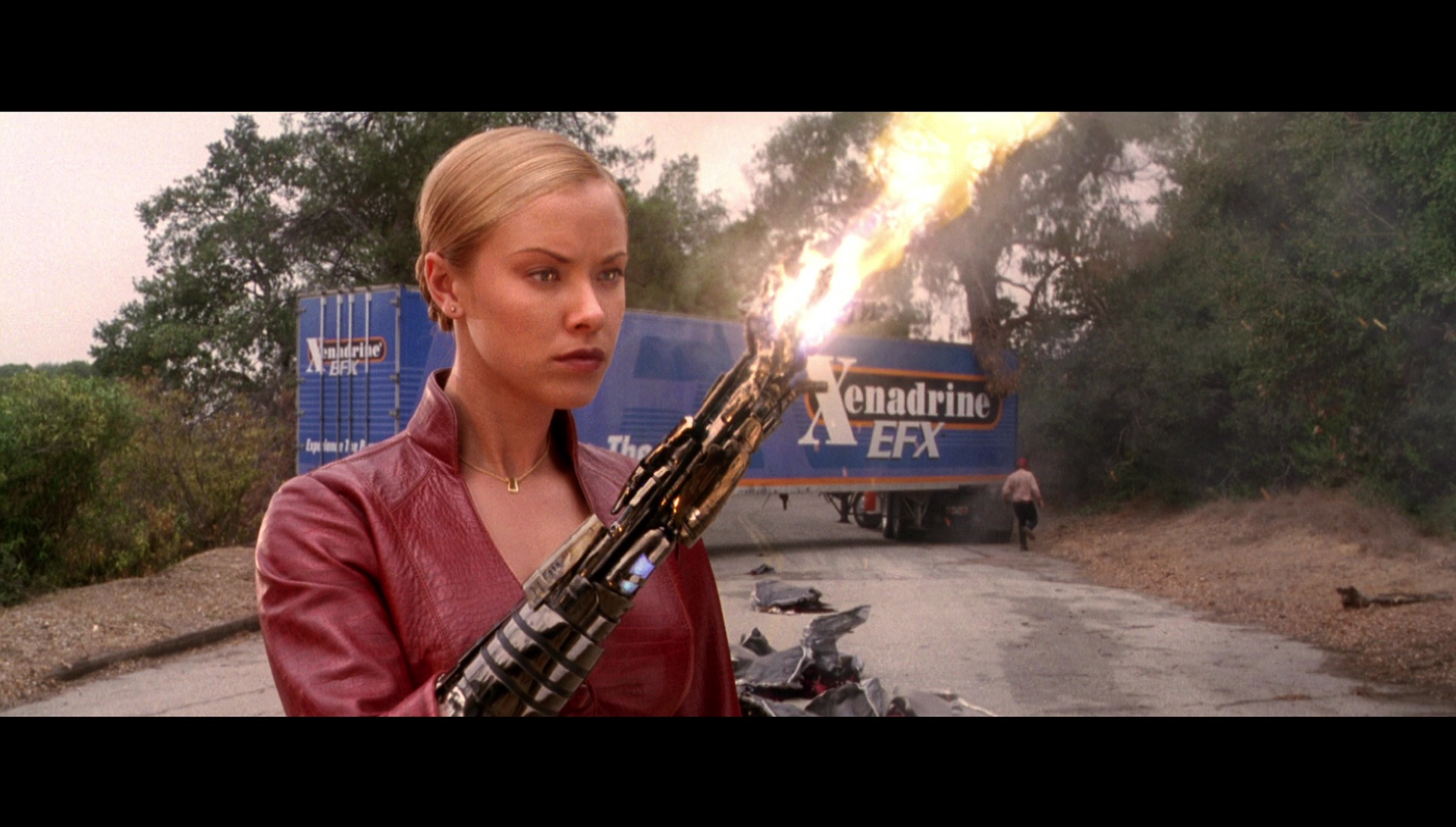 Xenadrine EFX (Weight Loss Supplement) Truck in Terminator 3: Rise of the Machines (2003)