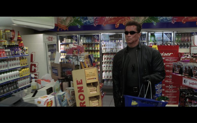 ampm Store, Budweiser Beer, Original Beef Jerky by Jack Link's, Toblerone in Terminator 3 Rise of the Machines (2003)