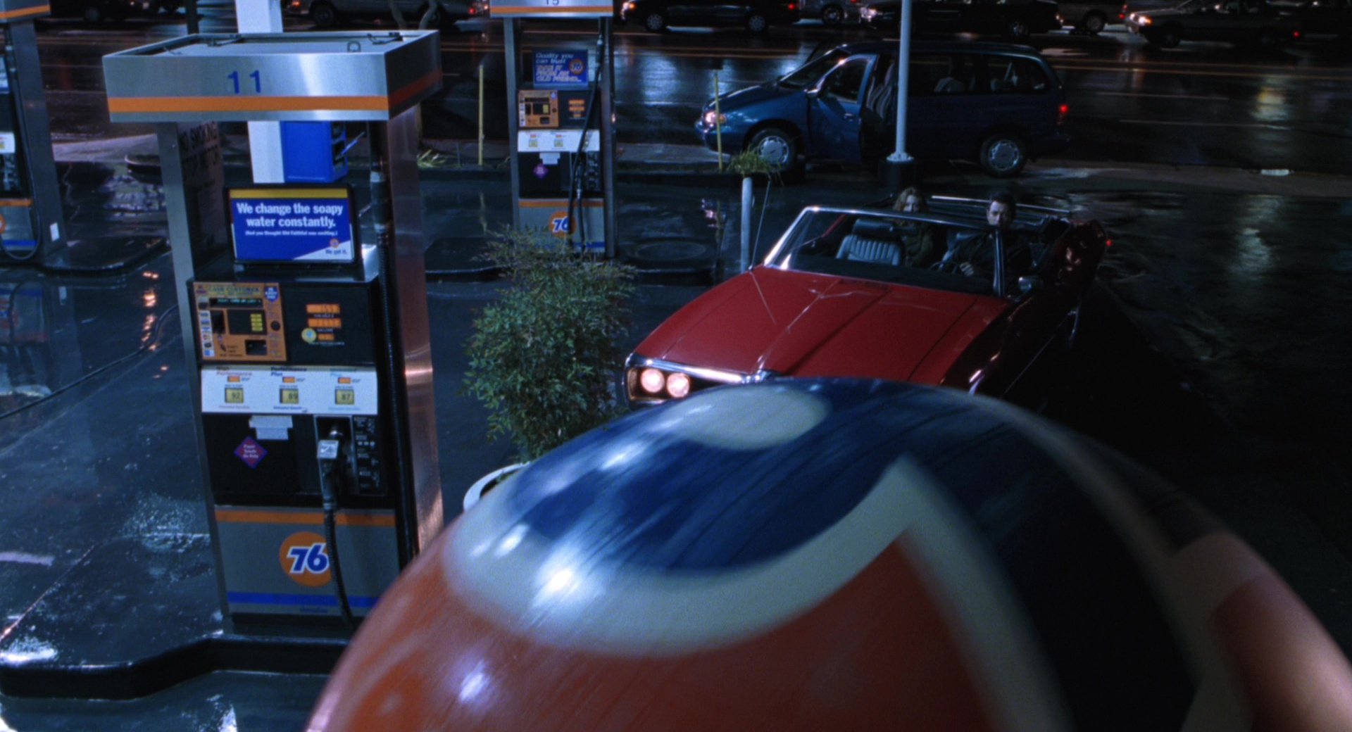 76 Gas Station In The Lost World Jurassic Park 1997 Movie