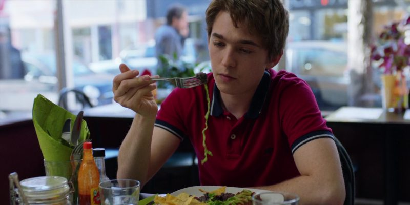 Aéropostale A87 Polo Shirt Worn by Austin Abrams in Brad's Status (2017) - Movie Product Placement