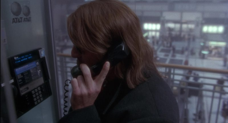 AT&T Payphone Used by Bruce Willis in Twelve Monkeys (1995) - Movie Product Placement