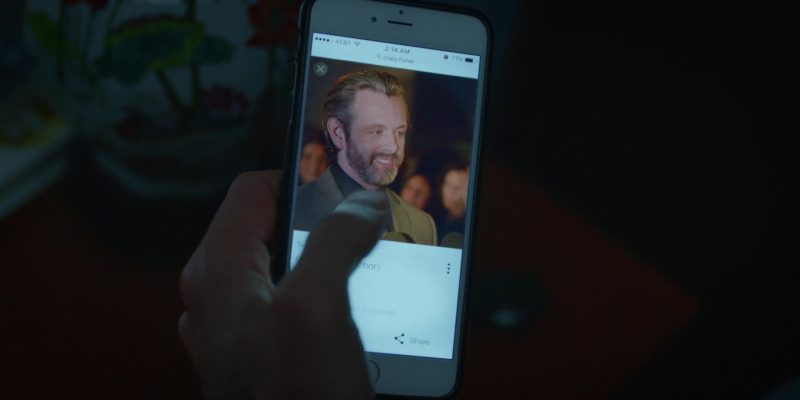 AT&T and iPhone in Brad's Status (2017) - Movie Product Placement