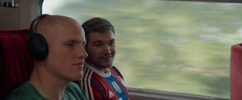 Adidas T-Shirt Worn by Alek Skarlatos in The 15:17 to Paris (2018) - Movie Product Placement
